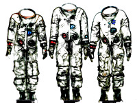 Uniforms of Apollo 1