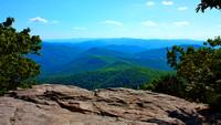 View from atop Blood Mountain
