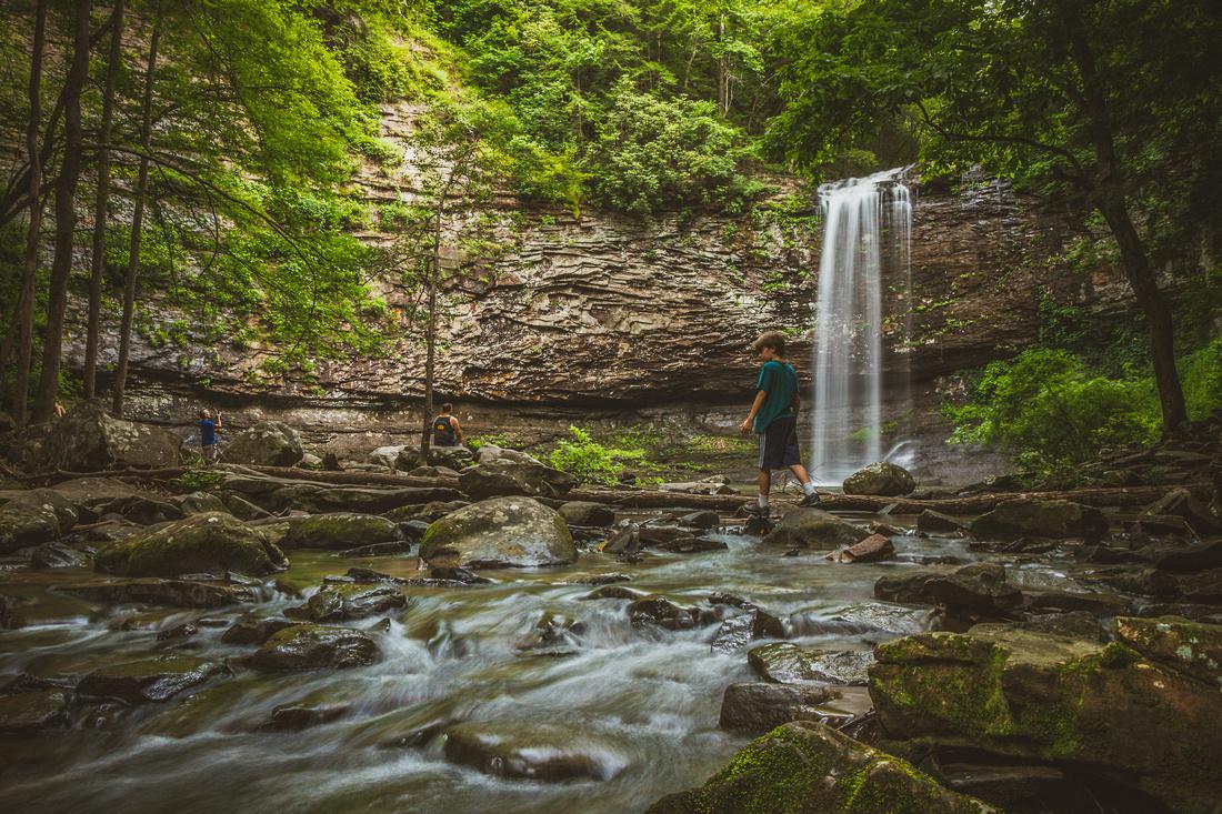 Cherokee Falls, Daniels Creek, Cloudland Canyon