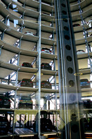 Inside the Car Tower - holds up to 500 new VW cars